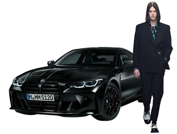 BMW의 M4가 입은 스트리트 패션