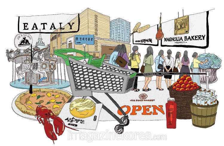 식품관 전쟁
