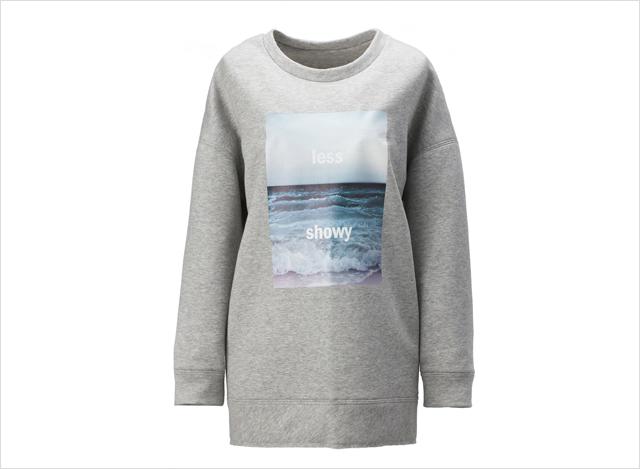 구호의 스웨트 셔츠