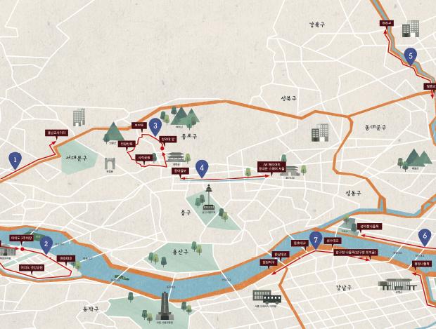서울의 달리기 좋은 8가지 코스