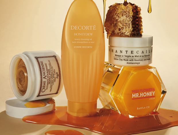 꿀 먹은 피부